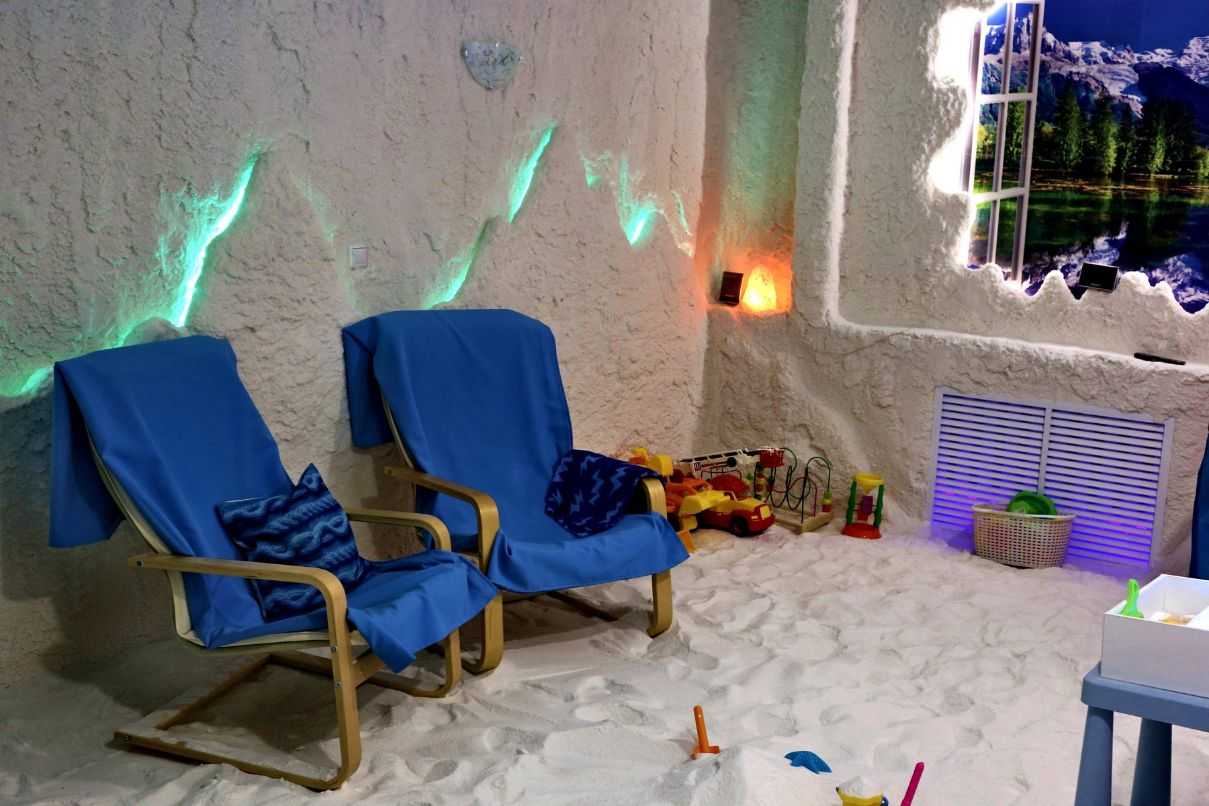 Соляная пещера г. Тюмень