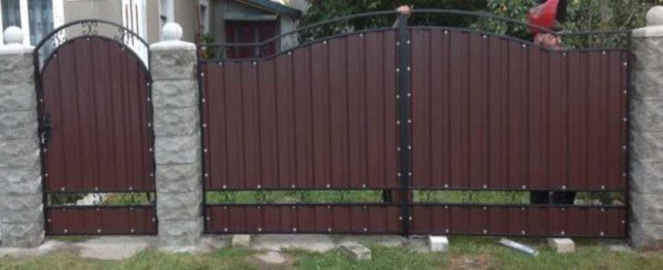 фигурный забор в михайловске