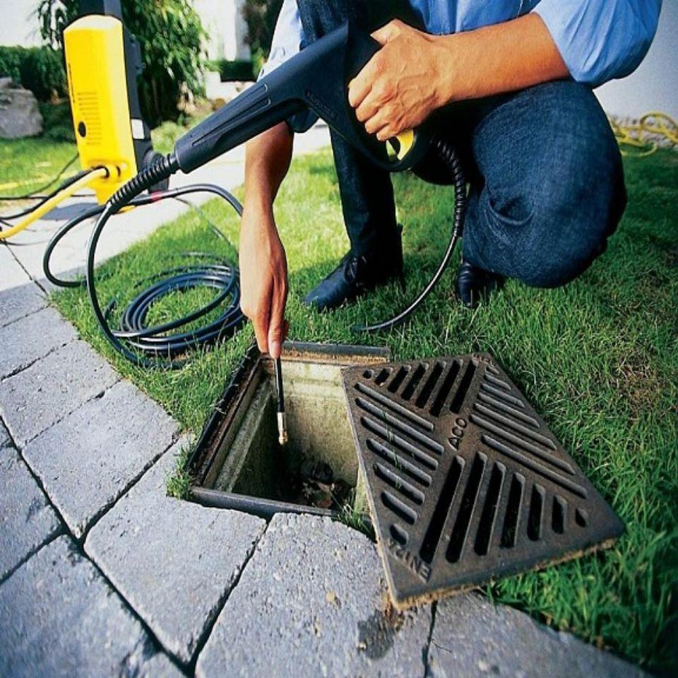 принцип работы гидродинамической чистки канализации в Михайловске
