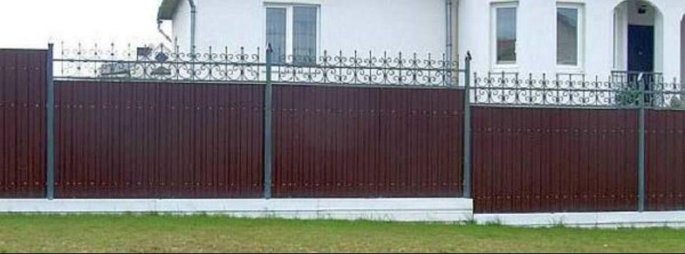 забор из профлиста в Михайловске и в Ставрополе