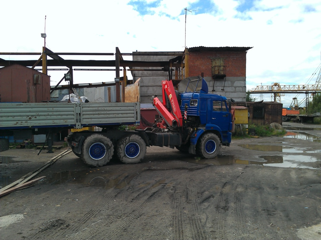 Перевозка в условиях стройплощадки