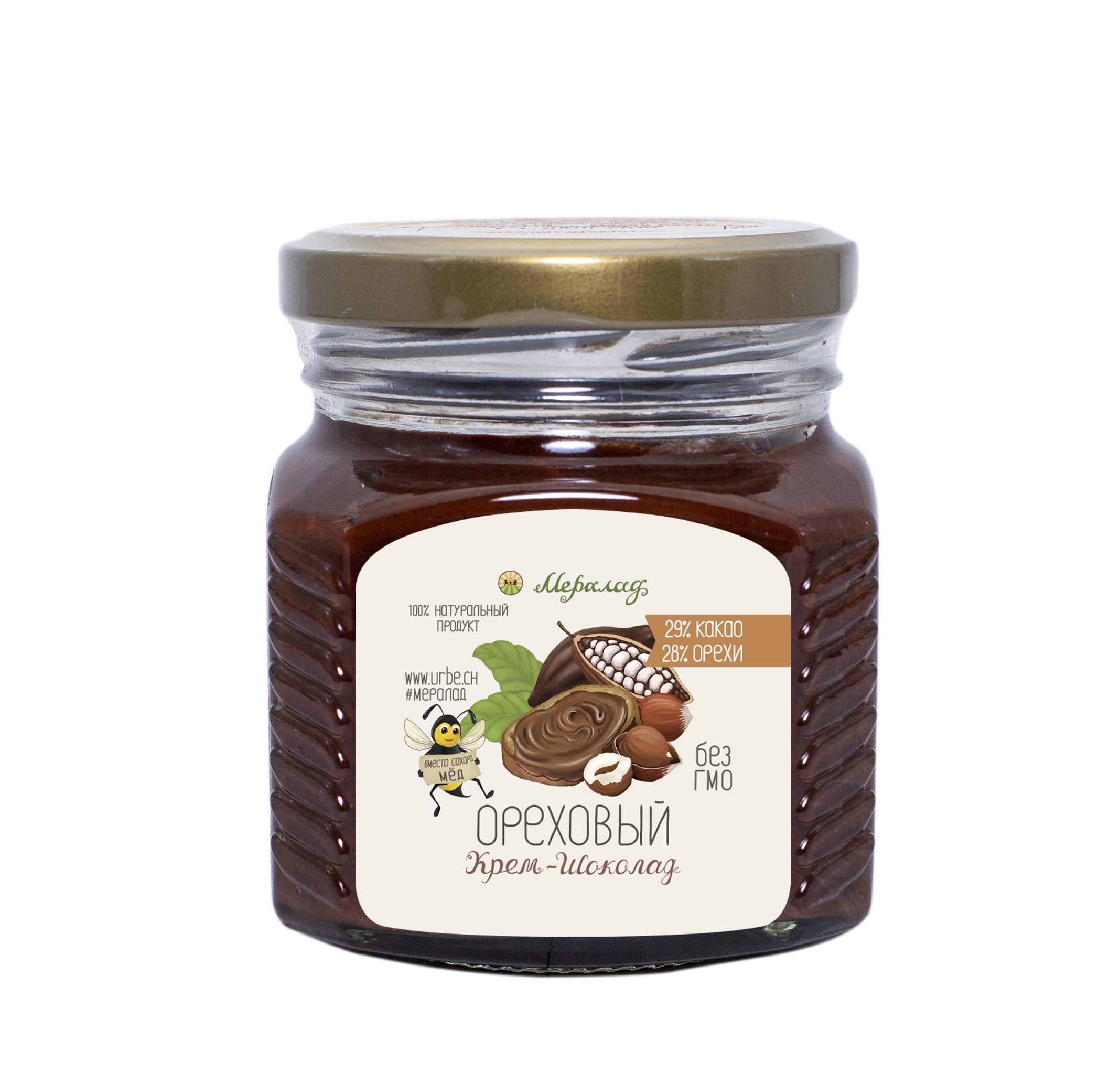 Фото Крем-шоколад ореховый (230г.) от Мералад