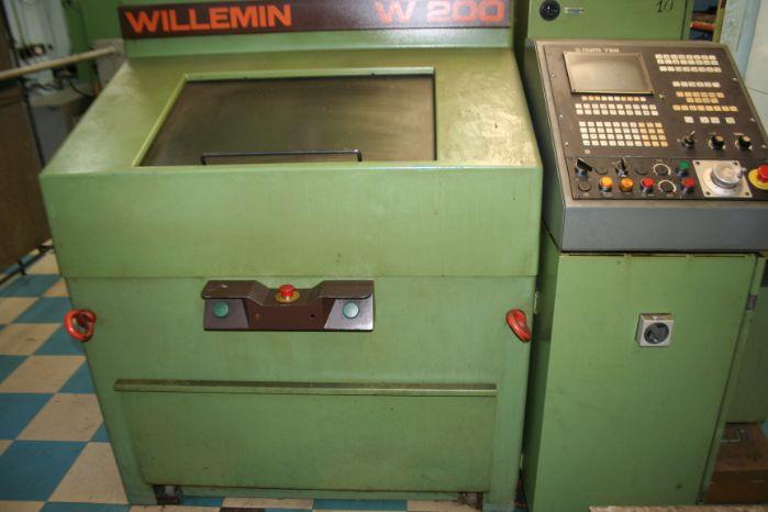 Токарный станок с чпу Willemin W200