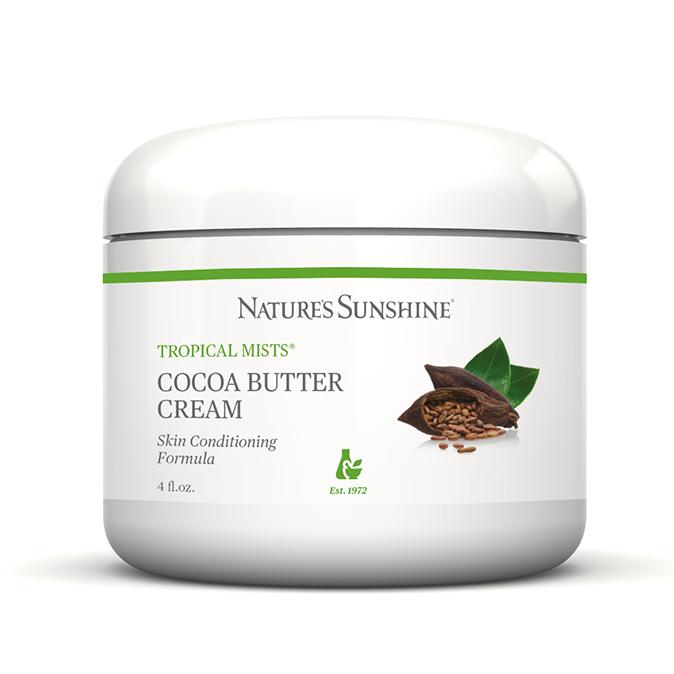 Картинка Кондиционирующий крем с маслом какао / Cocoa Butter Cream от магазина Nature's Sunshine Products