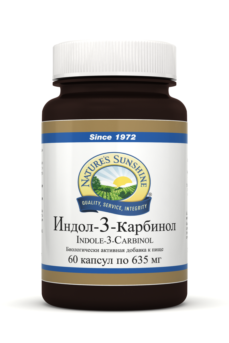 Картинка Индол-3-Карбинол / Indole-3-Carbinol от магазина Nature's Sunshine Products