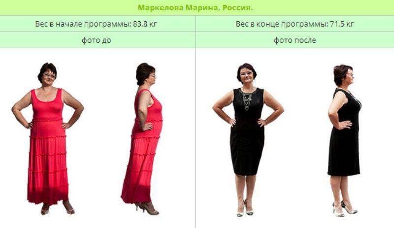 Как похудеть nsp