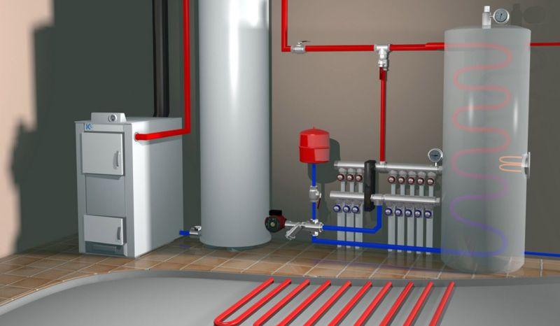 Ремонт систем Отопления и водоснабжения