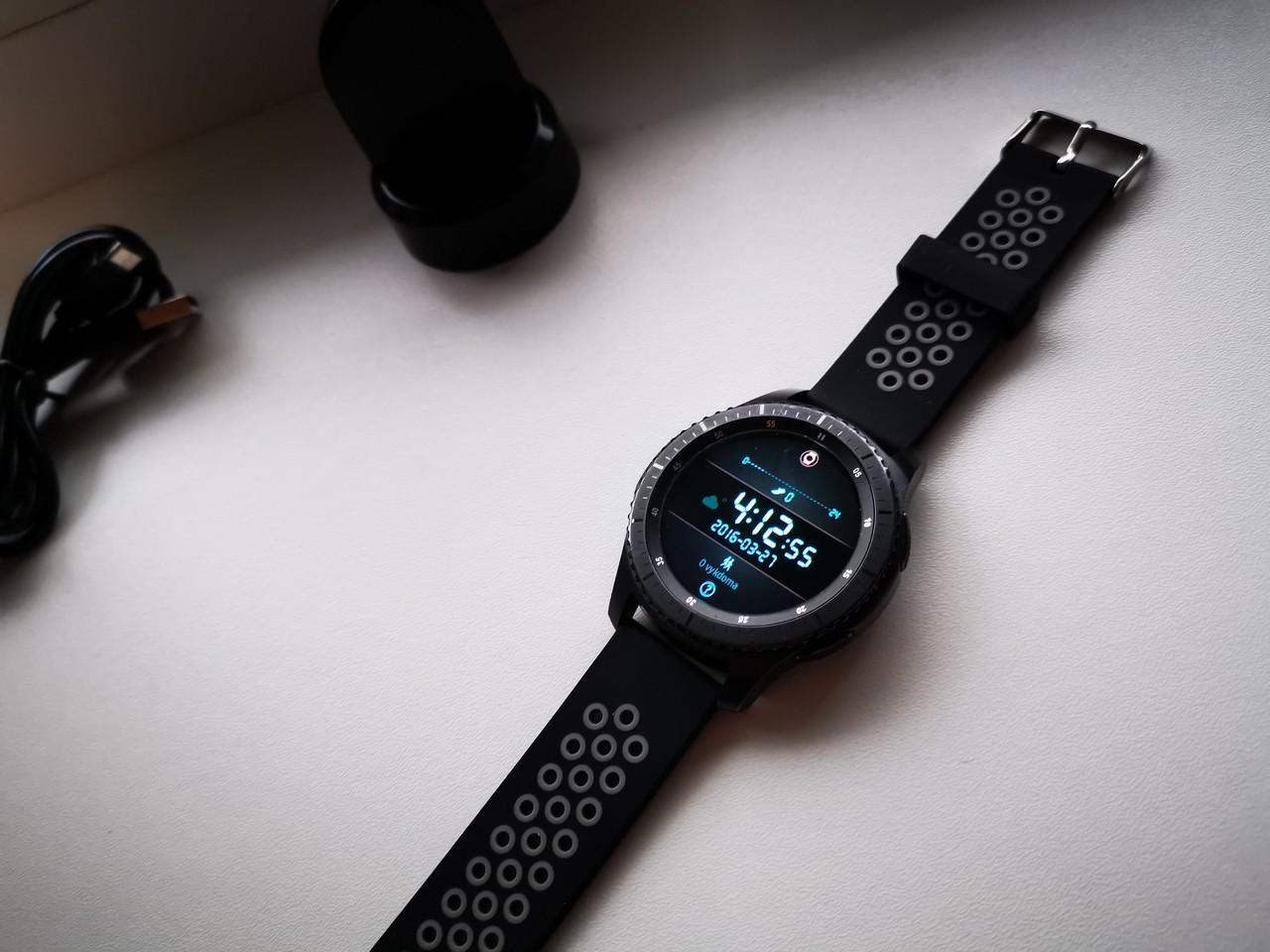 картинка Naudotas Samsung Gear S3 Frontier от магазина Одежда+