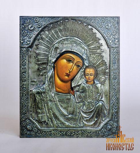 картинка Казанская Божия Матерь 3D от магазина мастерской Ярославский иконостас