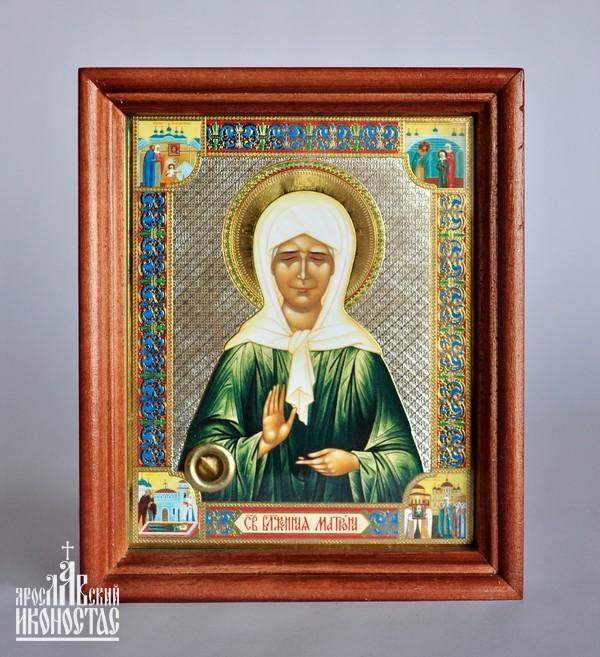 картинка Икона с частицей гроба Св. Блаж.Матроны от магазина мастерской Ярославский иконостас