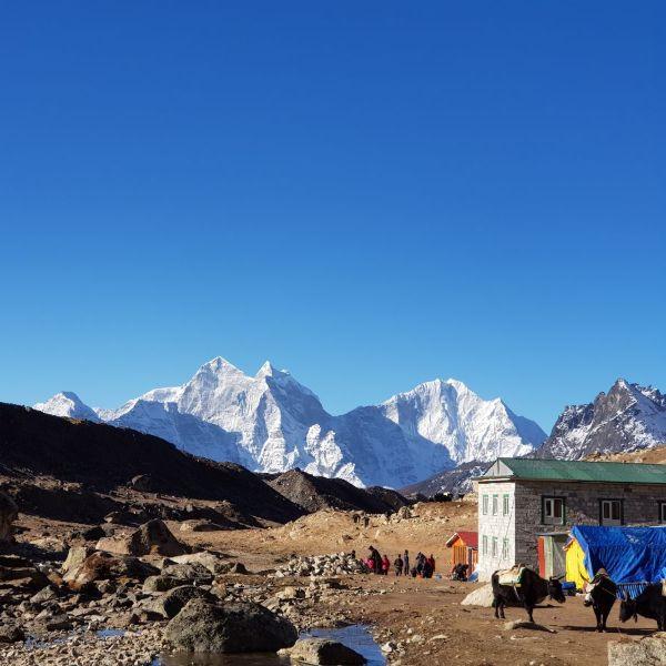 треккинг к базовому лагерю эвереста