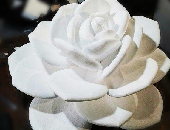 цветок из пенопласта