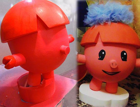 фигуры из пенопласта для детских праздников